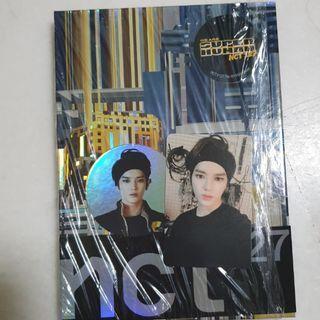 TAEYONG FULL SET NCT 127 WE ARE SUPERHUMAN PHOTOCARD + CIRCLE CARD + ALBUM