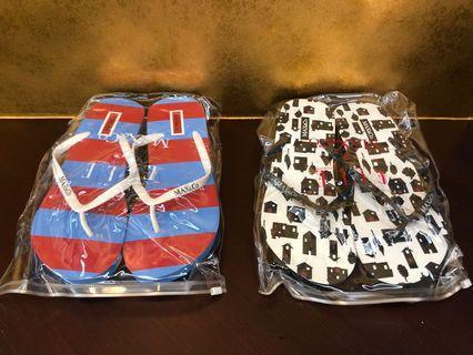 割價Max & Co x Elle 人字拖鞋 / 沙灘厚底拖鞋,平讓2對共$30
