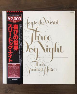 Three Dog Night - JOY TO THE WORLD THE BEST OF JAPAN LP