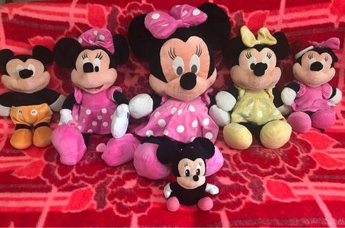 🚚 Mickey and Minnie mouse stuff toys