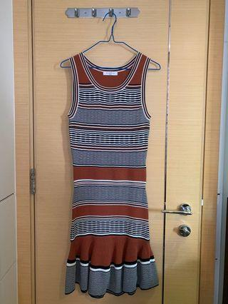 Sandro Patterned dress