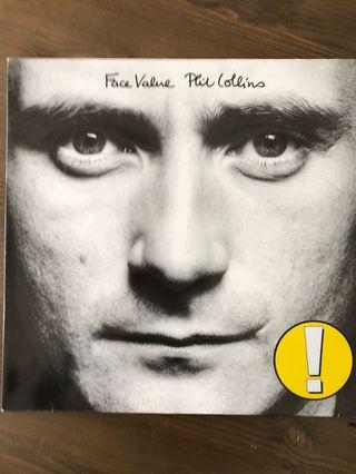 Phil Collins - Face Value 1981 LP