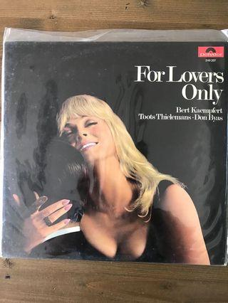 Various Artists - EASY LISTENING - For Lovers Only LP