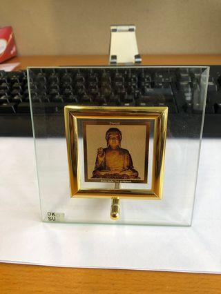 Buddha Swiss Made 24.ct Gold Plated Frame