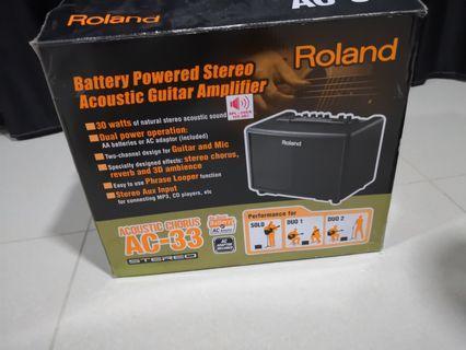 9成5 新Roland AC-33
