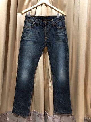 Nudie Jeans Thin Finn Org Dark Frost size 32x30