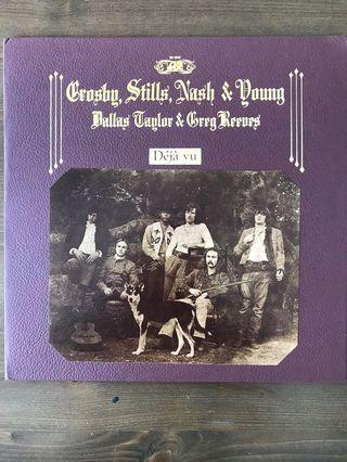 Crosby Stills Nash & Young - Deja Vu USA LP