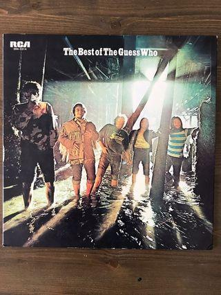 The Guess Who - THE BEST OF LP