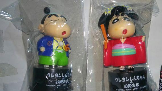 Set of Crayon Shin Chan Bottle Cap Figure