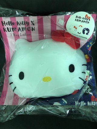Hello Kitty x Kumamon 2 ways  Cushion
