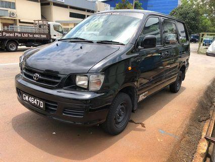 Toyota Noah town ace for rent $1050