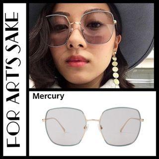 For Art's sake square sunglasses - Mercury