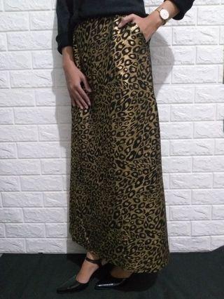 Leopard Gold Skirts