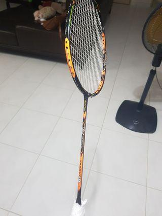 🚚 Duora 10 badminton racket (green/orange legends vision edt)