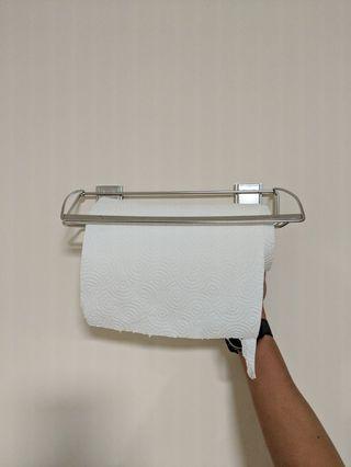 3M Command Stainless Steel Towel Rack 17678B