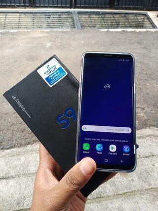 Samsung s9 black mulis seperti baru