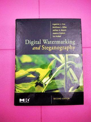 Hardcover Copy - Digital Watermarking and Stenography - Morgan Kaufmann