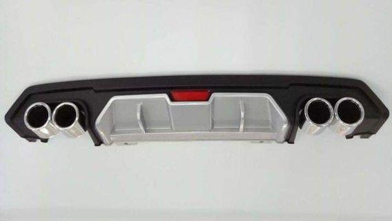Honda Civic FC Rear Diffuser With Dummy Exhaust