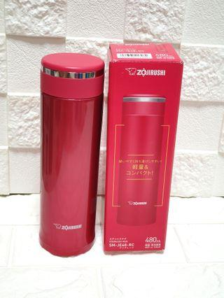 Fast deal: Zojiruhi 480ml Beautiful Red Coloured Mug; Excellent Vacuum Insulation; Easy to Clean