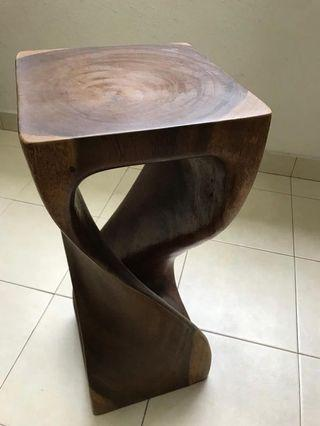 Wooden craft/stool/table/display