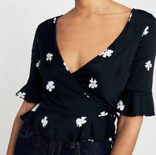 urban outfitters floral wrap too