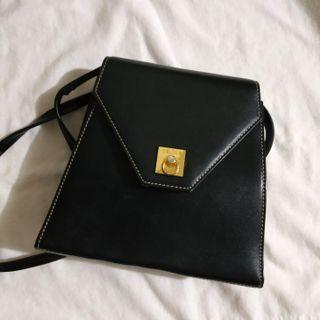 Authentic Celine vintage cross body clutch bag NOT dior Prada