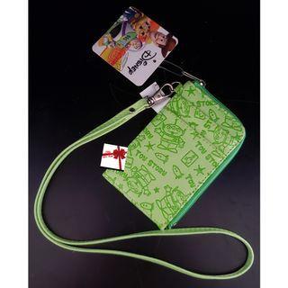 【現貨】Disney(三眼仔)頸掛壓紋證件套/票卡套
