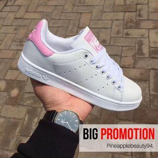 [READY STOCK] ADIDAS Stan Smith Shoes (PINK)
