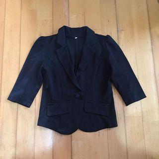 休閒西裝外套 black jacket