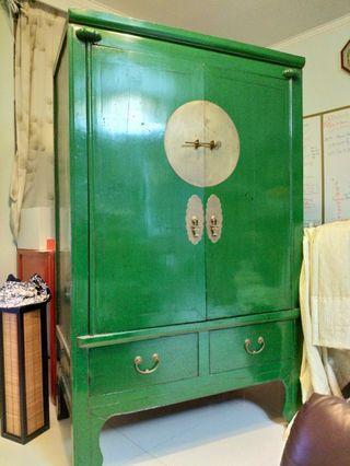 仿古明式中式大衣櫃