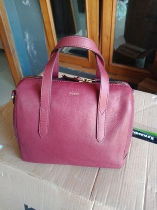 Tas fossil sidney satchel preloved