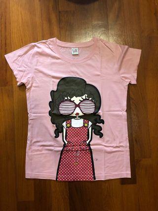 OP Pink Girl T Shirt