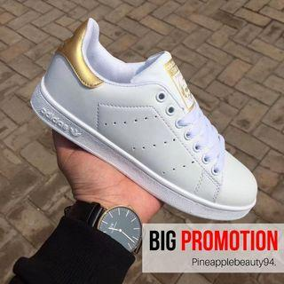 [READY STOCK] ADIDAS Stan Smith Shoes (GOLD)