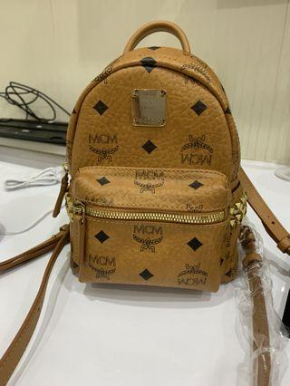MCM Backpack Authentic X mini Visetos