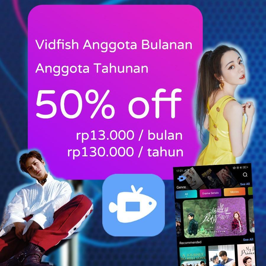 50% off Vidfish subscriptions - Asian dramas and movies! (Netflix, hooq, viu, iflix, etc)
