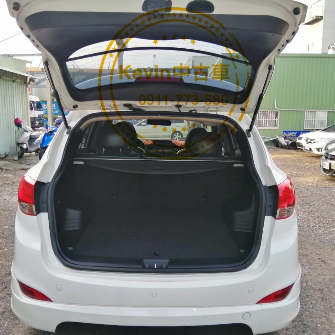 現代 12年  ix35汽油 2.0 頂(全景天窗)