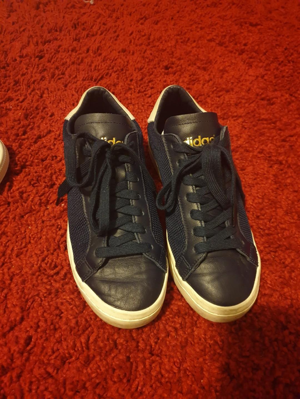 Adidas Courtside - Navy/Gold