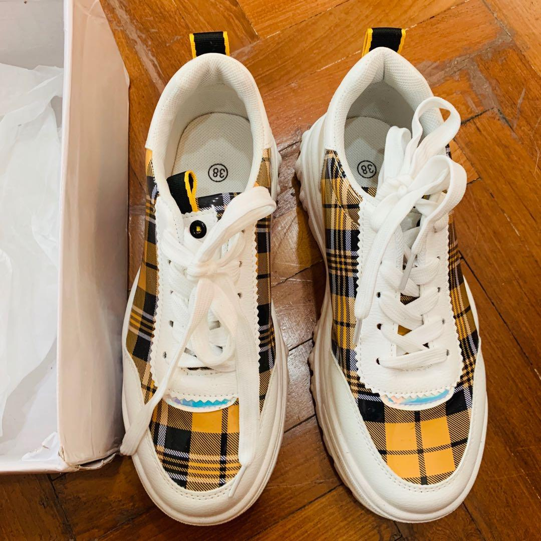 chunky platform Sneakers authentic plt