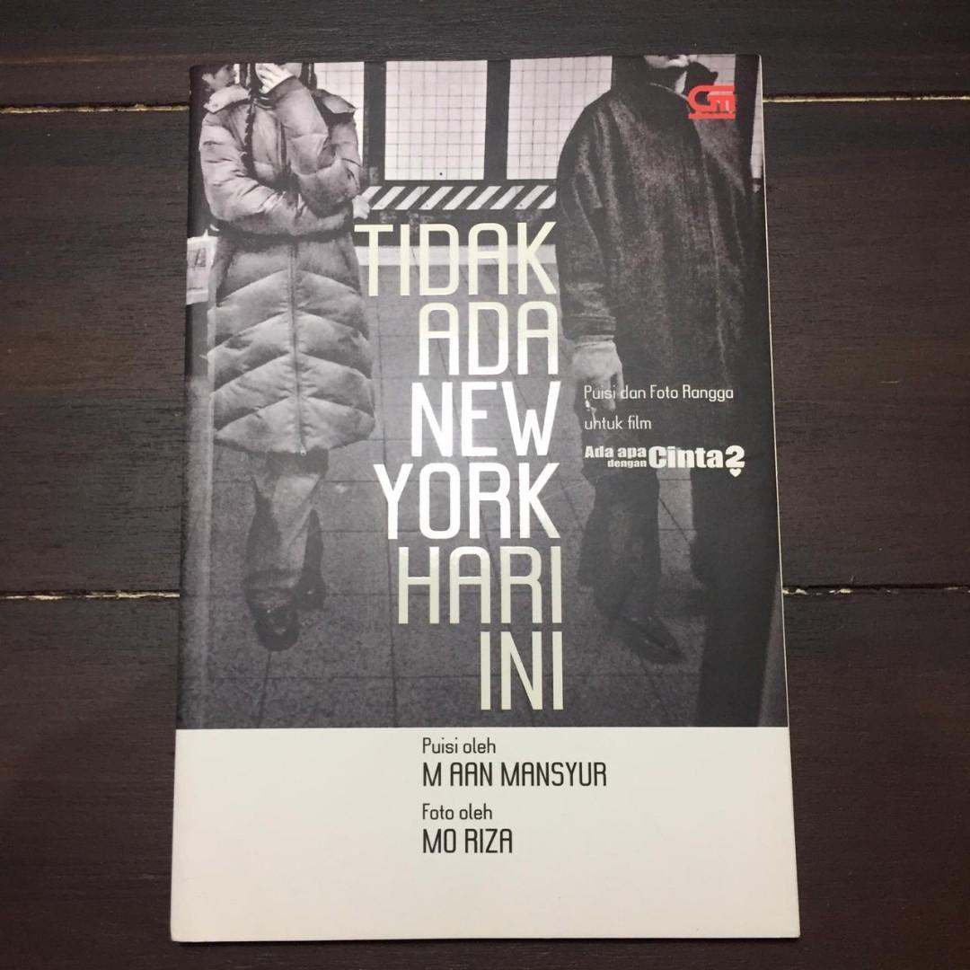 Buku Puisi Tidak Ada New York Hari Ini