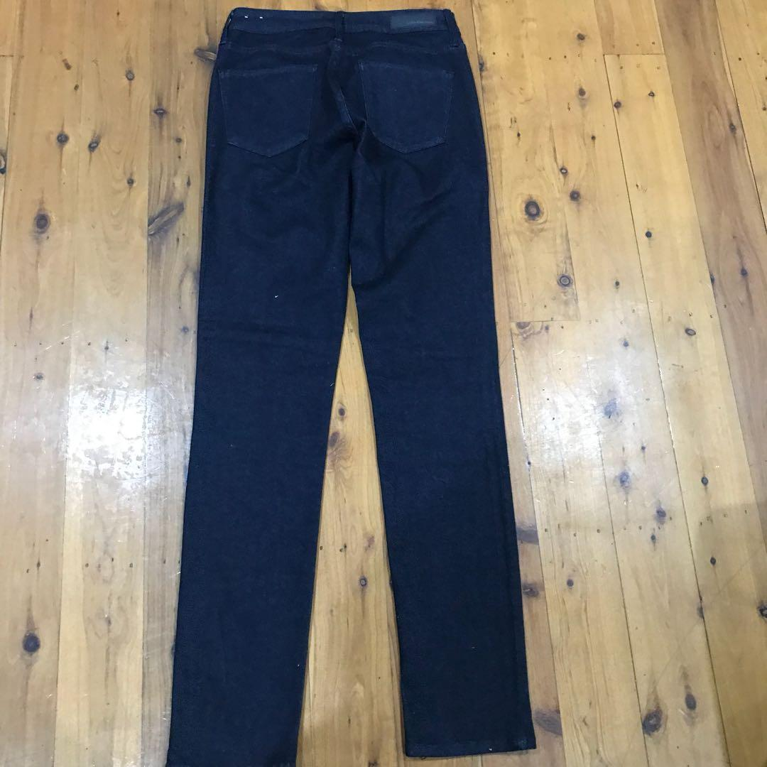 Calvin Klein dark denim jeans Ultimate skinny size 6 x32