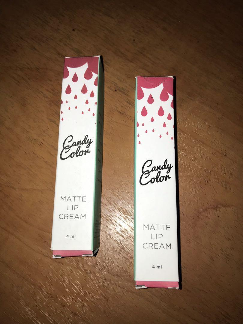 Candy Color Matte Lip Cream