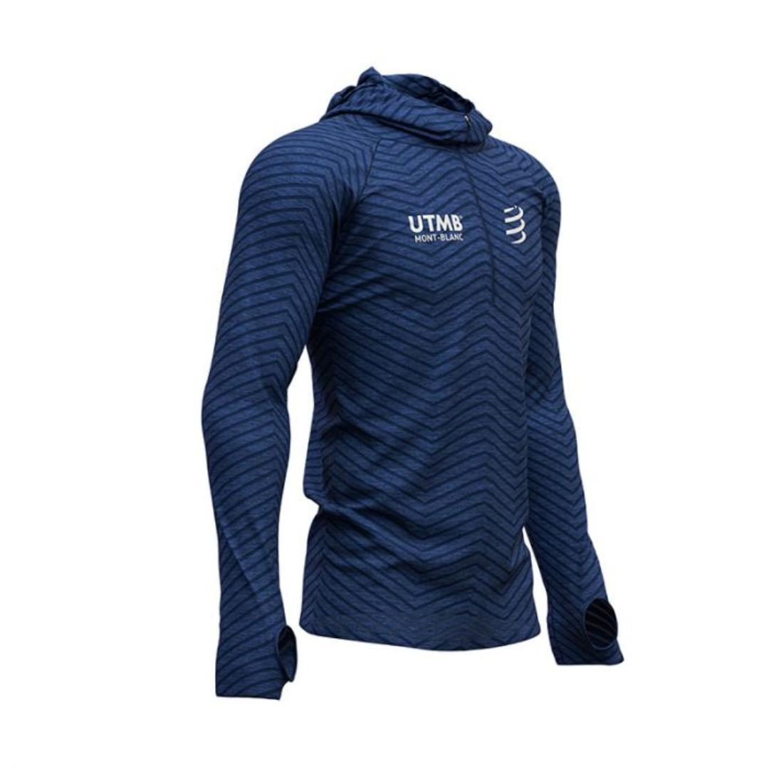 COMPRESSPORT Ultra-Trail 180g Racing Hoodie - UTMB® 2019 Size L