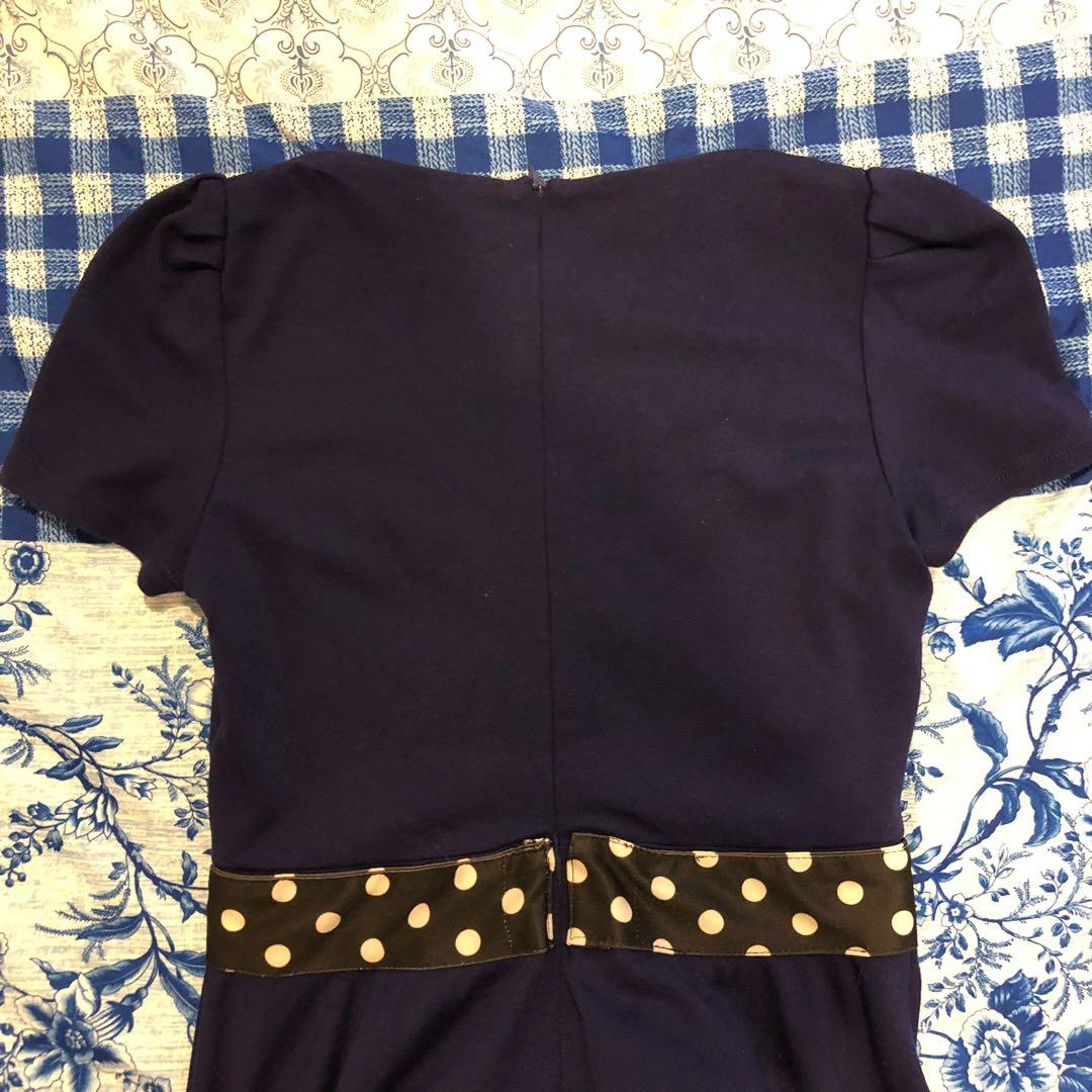 Doublewoot Blue Flare Dress