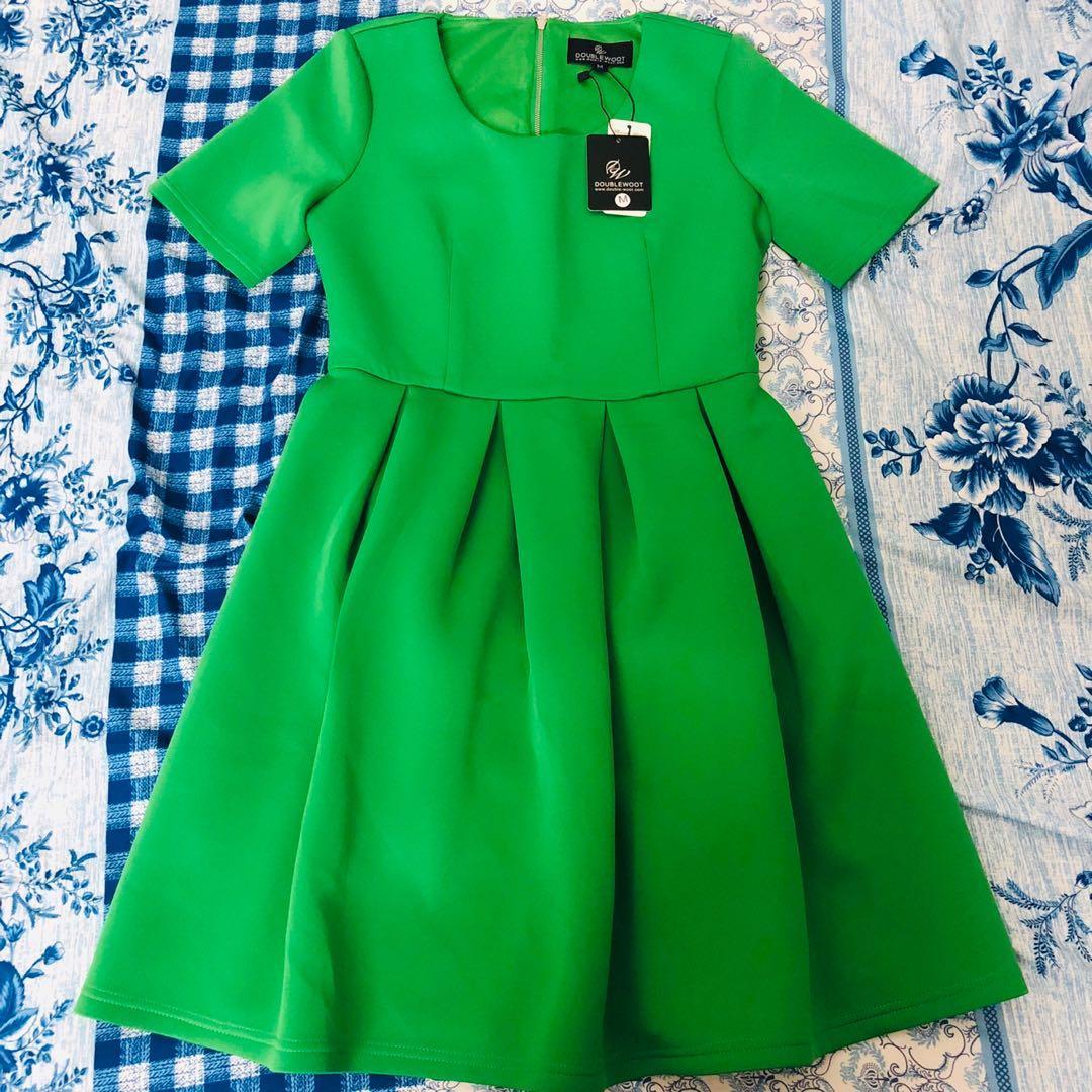 Doublewoot Green Dress