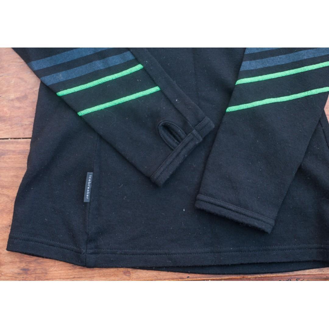 Ice Breaker - Womens Original Long Sleeve Half Zip.