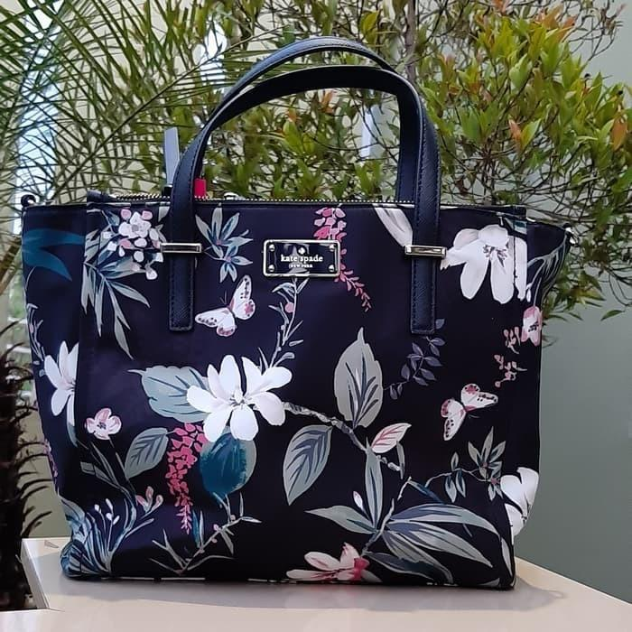 [BOLEH NEGO] Kate Spade Alyssa Botanical Bag