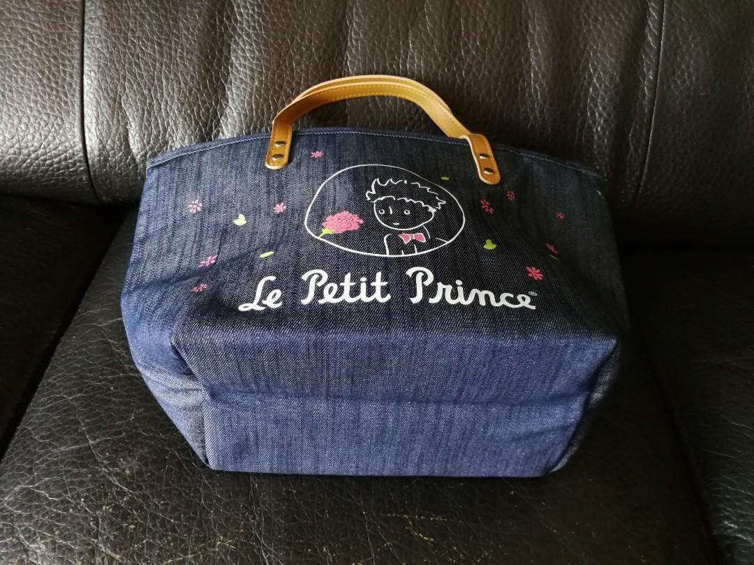 Little Prince 小王子 牛仔布 保溫手挽袋