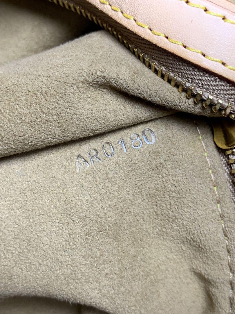 Louis Vuitton Printemps Ete 2010 Bucket Noe Leather Limited Tote Purse Handbag