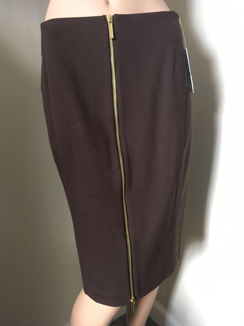 Michael by Michael Kors Brown Skirt - BNWTS US $84.50