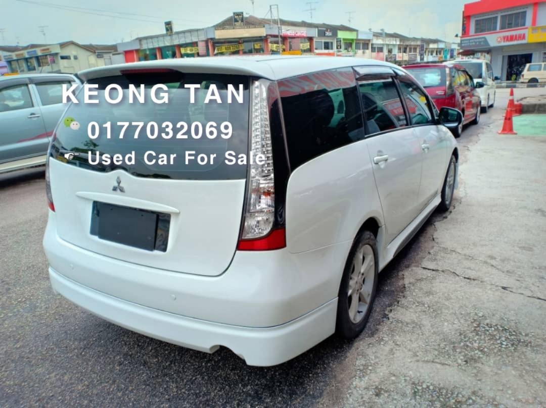 MITSUBISHI GRANDIS 2.4AT 2010TH🎉OfferPrice Rm42,500 Only!🎈Free 1-Year Warranty🎉Monthly Rm697💲